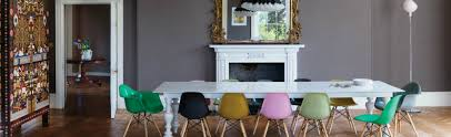Trendy Armchairs Rainbow Dining Room Ideas Trendy And Bold Armchairs For It