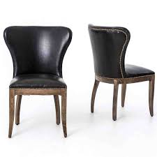 black leather dining room chairs renovation iagitos com