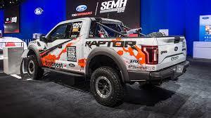 baja truck racing automotiveblogz ford f 150 raptor baja race truck sema 2016