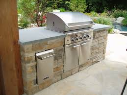 tasty outdoor kitchen cabinet finishes shining kitchen design