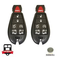 amazon com remote store new pair of 7 button replacement for