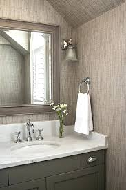 wallpaper bathroom ideas grasscloth wallpaper in bathroom irrr info
