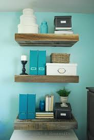 shelves shelf organizer floating wood shelves etsy reclaimed