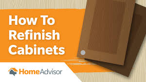How To Refurbish Kitchen Cabinets Diy Tips For Refinishing Kitchen Cabinets Homeadvisor