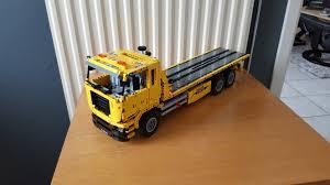 lego moc 2345 42009 alternate flatbed tow truck technic 2014