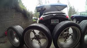 nissan 350z nismo rims drift 350z new nismo wheels youtube