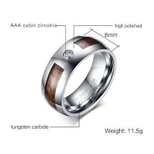 Tungsten Comfort Fit Wedding Bands Unique 8mm Mens Tungsten Carbide Rings Mahogany Wood Grain And Cz Inlay Comfort Fit Wedding Band Jpg 640x640 Jpg