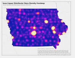Map Radius Tool Iowa Liquor Sales Data Visualizations John Bencina