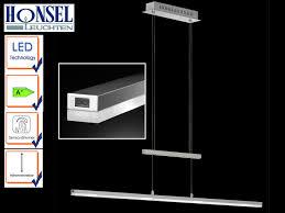 Wohnzimmerlampen Hängelampe Led Sensordimmer Höhenverstellbar Länge 100cm