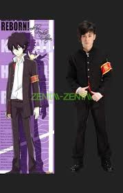 Hitman Halloween Costume Katekyo Hitman Reborn Cosplay Costume