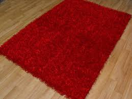Round Red Rugs Red Rug Design