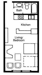 Small Pool House Floor Plans Apartments Efficiency Floor Plan Floorplans Pinterest Studio