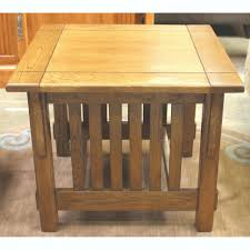solid oak mission style coffee table solid oak coffee table with drawers end tables wood honey
