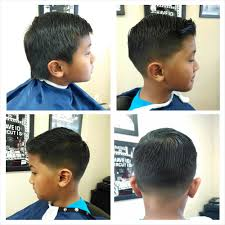 classic kids haircut with a taper on sides and back yelp