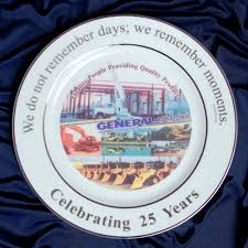 personalized ceramic plate custom dinnerware restaurants country clubs special events