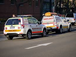 subaru ford file ambulance service nsw subaru forester ford ranger flickr