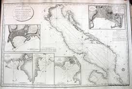 Map Venice Florida by Gulf Of Venice Italy Antique Maps And Charts U2013 Original Vintage
