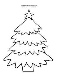 Impressive Christmas Tree Coloring Page With Christmas Ornament Tree Coloring Pages Ornaments