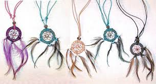 leather necklace wholesale images Crafts wholesale leather dream catcher necklace with matching jpg