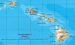 map kona usa hawaii reference map