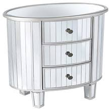 mirrored nightstand with 3 drawers mirrored nightstand with 3