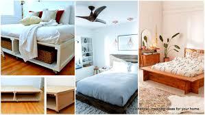 Diy Platform Bed 29 Brilliant Easy To Build Diy Platform Bed For A Cozy Bedroom