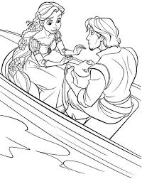 coloring pages disney princess rapunzel printable free for little