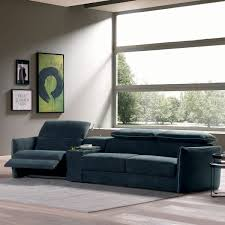 sofa sectional sleepers b995 tullio leather or fabric model by natuzzi quick ship