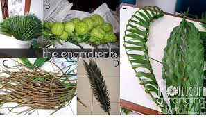 palm leaves for palm sunday all about arranging flowers step by step tutorial palm sunday