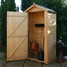 rustic style outdoor storage with windsor wooden sentry box shed tall wooden storage design