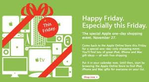 black friday ipod touch deals apple black friday sale 2009 ad leaked see the details updated