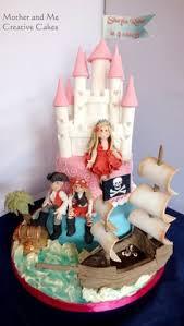 princess and pirate cake birthday party ideas pinterest cake