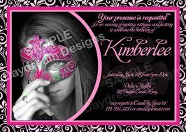 masquerade party invitation wording cimvitation