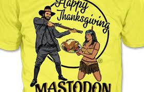 an open letter to mastodon regarding your thanksgiving t shirts