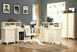 Home Office Double Desk Double Desk Home Office Building Built In Desks Home Office