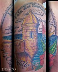 puerto rico quarter tattoo by tattoobosco on deviantart