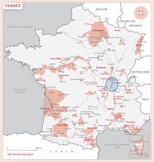 Map Of Burgundy France by Wines Of Beaujolais France U2014 Winesci
