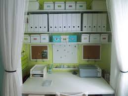 Design Tips For Home Office Pinterest Home Office Storage Ideas Balance A Wooden Board Across
