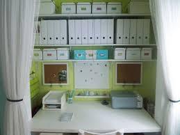 pinterest home office storage ideas balance a wooden board across