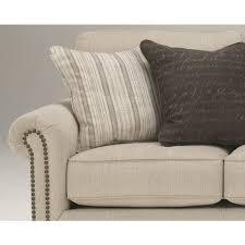 peter andrews furniture and gifts linen nailhead sofa u0026 loveseat 2