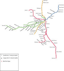 Mbta Train Map by Nuvu Studio T Map Challenge