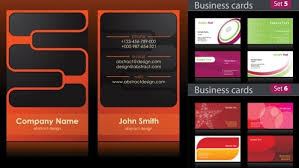 Business Cards In Pages Business Card Background Design Free Vector Download 57 244 Free