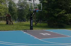 basketball courts with lights near me court painting backyard sports