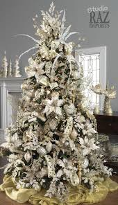 Most Beautiful Christmas Decorated Homes Great White Christmas Tree Decorating Ideas 25 About Remodel