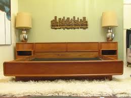 mid century modern bedroom sets mid century modern platform bed design ideas all modern home