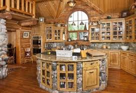 kitchen awesome pictures log cabin kitchens ideas rustic log