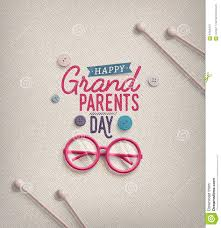 grandparents day stock vector image 57845327