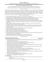 Account Management Resume Logistics And Supply Chain Management Resume Resume For Your Job