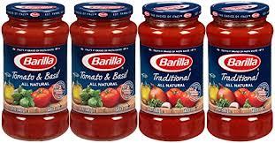 wedding gift spaghetti sauce barilla pasta sauce variety pack 24 ounce 4 jars