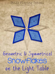 snowflake crafts and activities for kids still playing